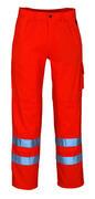 00479-860-14 Housut polvitaskuilla - hi-vis oranssi