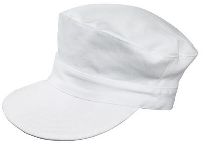 00530-630-06 Lippalakki - valkoinen