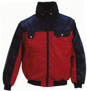 00920-620-21 Pilottitakki - punainen/tummansininen