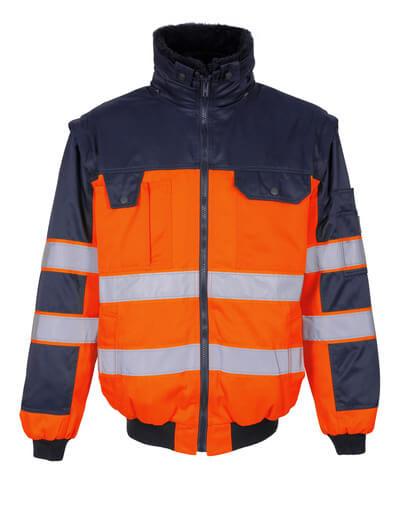 00920-660-141 Pilottitakki - hi-vis oranssi/tummansininen