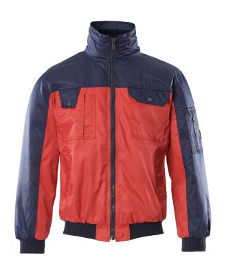 00922-620-21 Pilottitakki - punainen/tummansininen