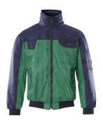 00922-620-31 Pilottitakki - vihreä/tummansininen