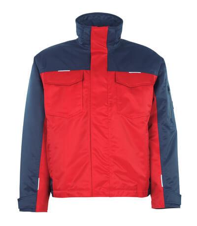 05022-650-21 Talvitakki - punainen/tummansininen