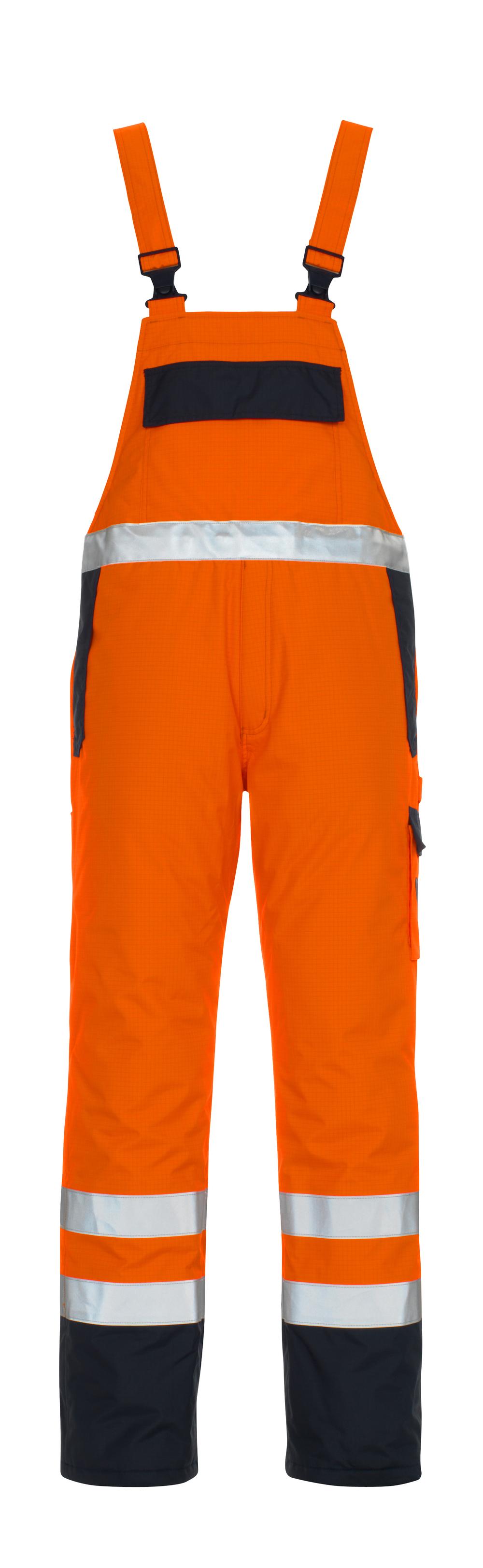 05192-064-141 Avosuoja - hi-vis oranssi/tummansininen