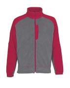 06042-137-88802 Fleece Takki - antrasiitti/punainen