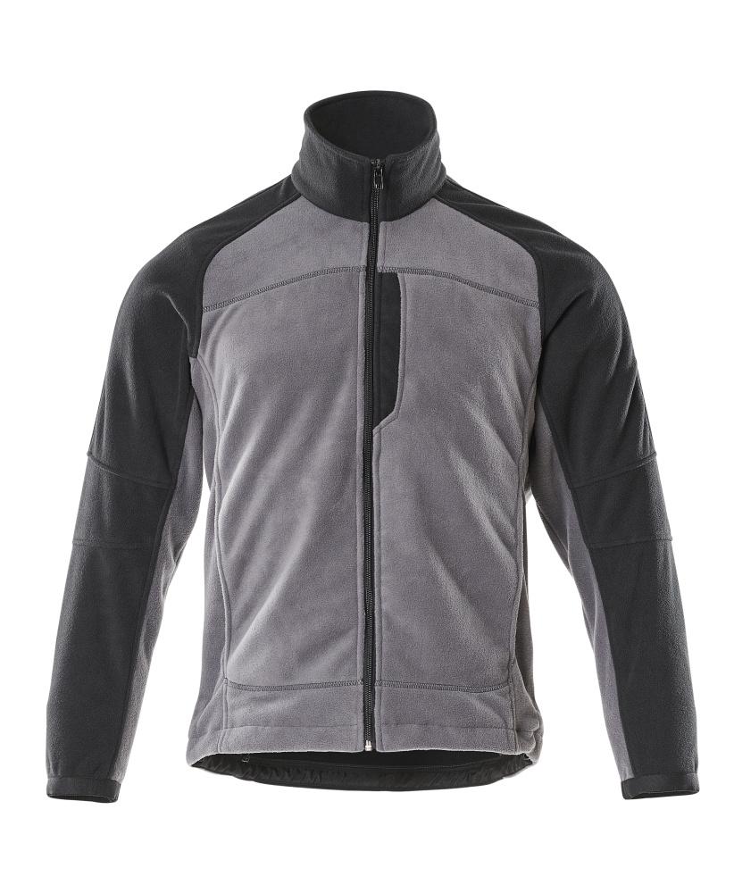 06042-137-8889 Fleece Takki - antrasiitti/musta