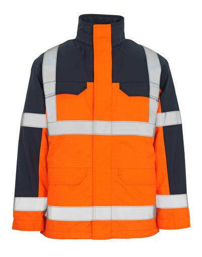 06831-064-141 Parkatakki - hi-vis oranssi/tummansininen