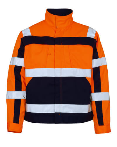 07109-860-141 Takki - hi-vis oranssi/tummansininen