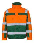 07123-126-1403 Pilottitakki - hi-vis oranssi/vihreä
