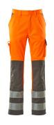 07179-860-14888 Housut polvitaskuilla - hi-vis oranssi/antrasiitti