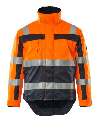 07223-880-141 Talvitakki - hi-vis oranssi/tummansininen