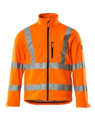 08005-159-14 Softshell-takki - hi-vis oranssi