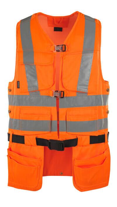 08089-860-14 Työkaluliivi - hi-vis oranssi