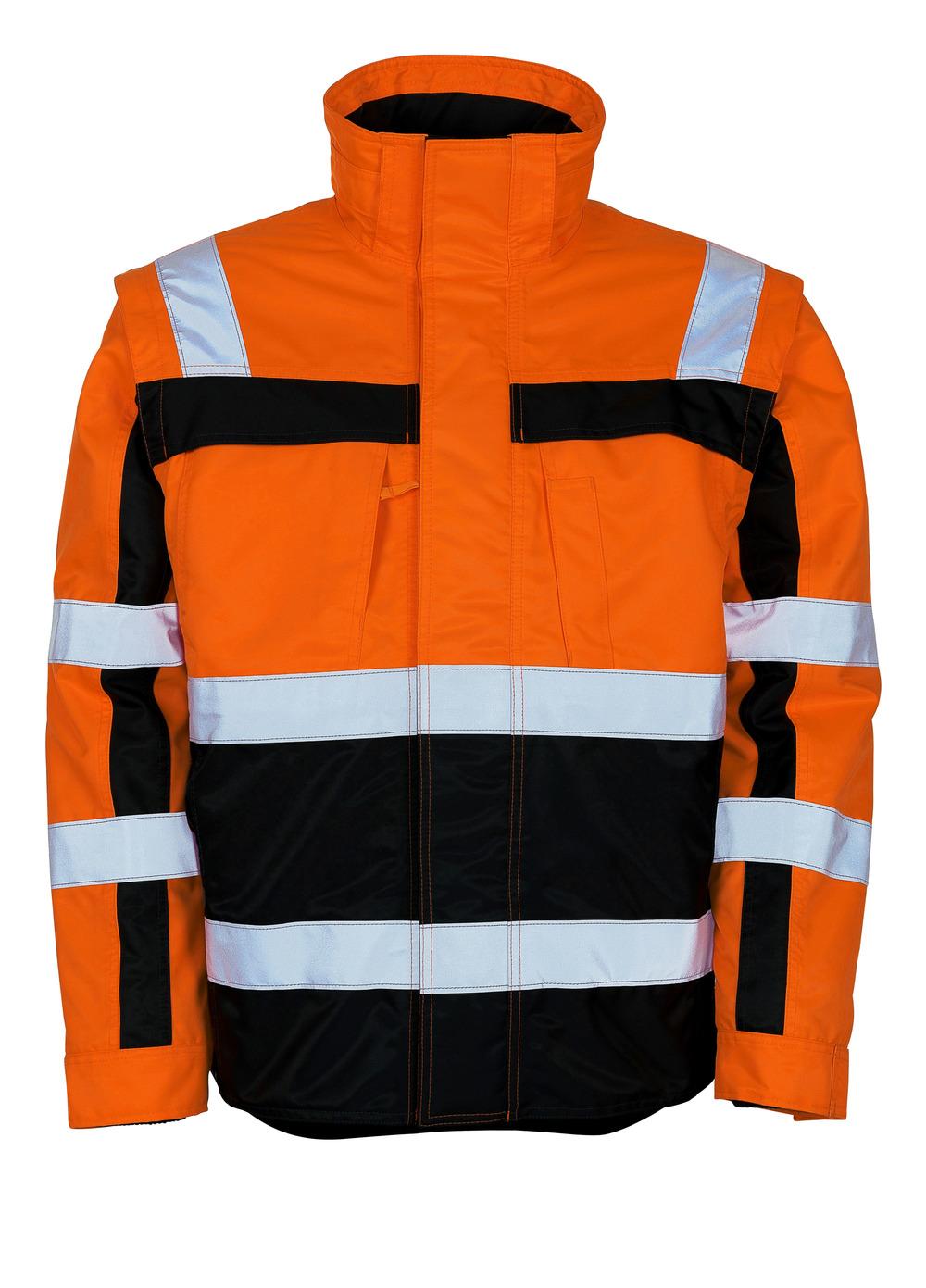 09335-880-141 Talvitakki - hi-vis oranssi/tummansininen