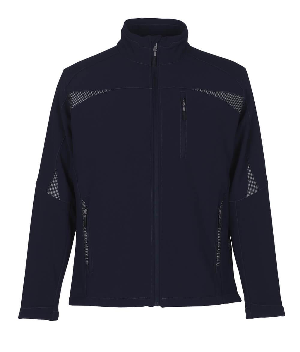 10002-883-01 Softshell-takki - tummansininen