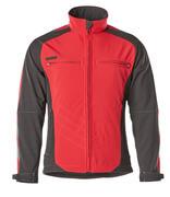 12002-149-0209 Softshell-takki - punainen/musta