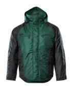 12035-211-0309 Talvitakki - vihreä/musta