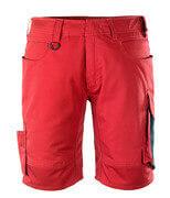 12049-442-0209 Shortsit - punainen/musta
