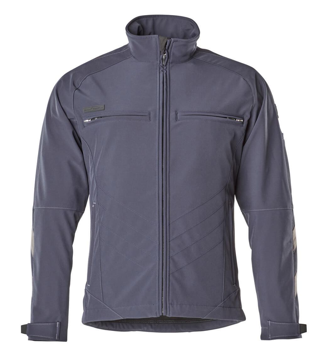 12102-149-010 Softshell-takki - syvä tummansininen