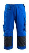 14149-442-11010 ¾-housut polvitaskuilla - koboltinsininen/tumma laivastonsininen