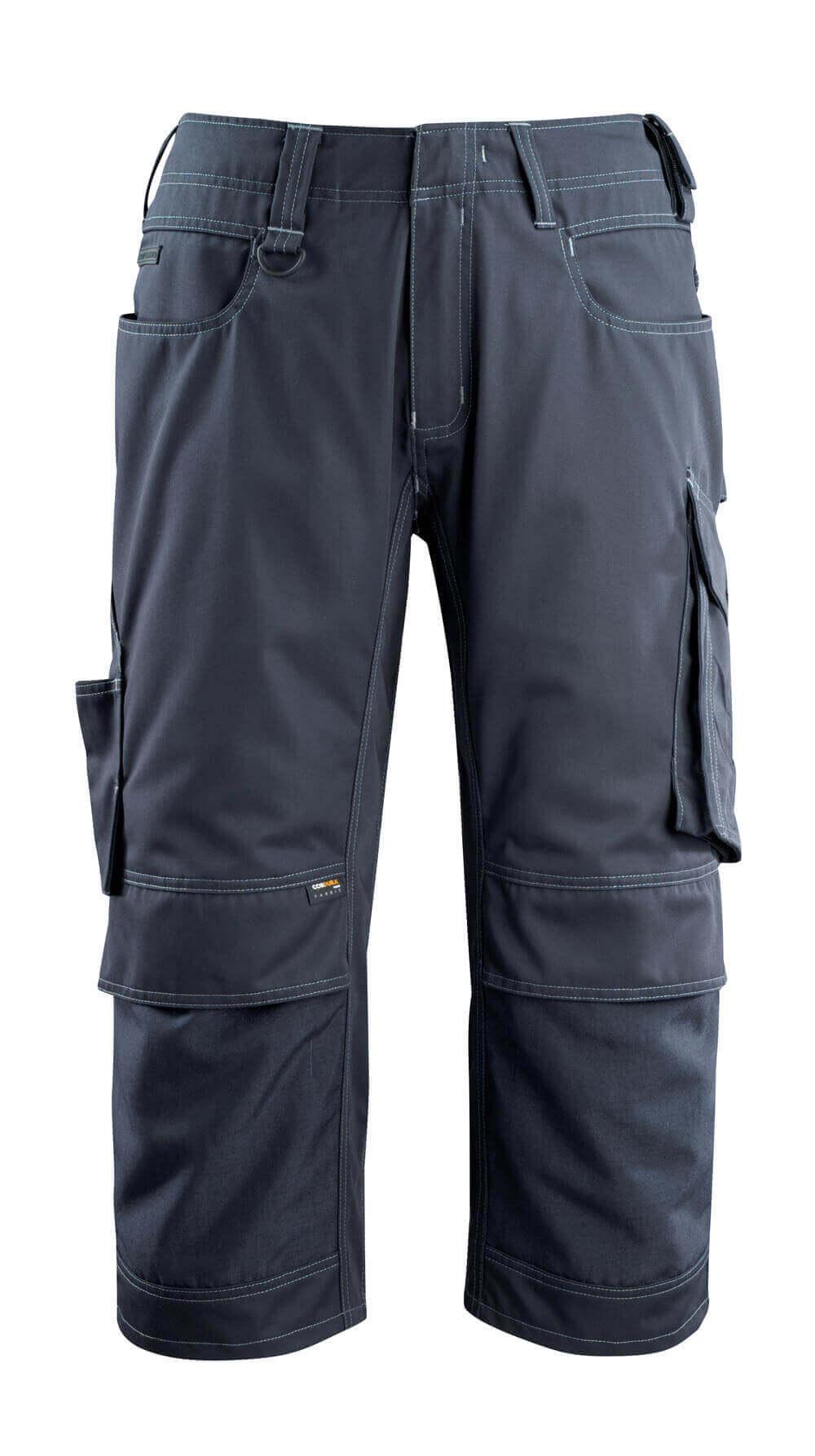 14249-442-010 ¾-housut polvitaskuilla - syvä tummansininen