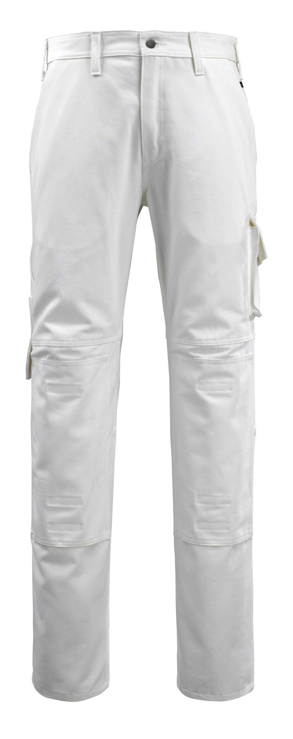14579-197-06 Housut polvitaskuilla - valkoinen
