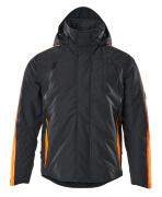 15035-222-01014 Talvitakki - tumma laivastonsininen/hi-vis oranssi