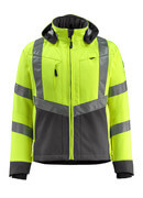 15502-246-1718 Softshell-takki - hi-vis keltainen/tumma antrasiitti