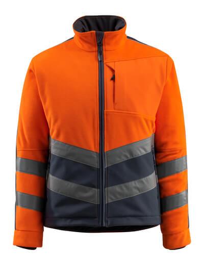 15503-259-14010 Fleece Takki - hi-vis oranssi/tumma laivastonsininen