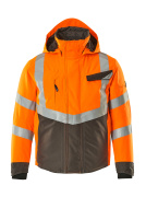 15535-231-1418 Talvitakki - hi-vis oranssi/tumma antrasiitti