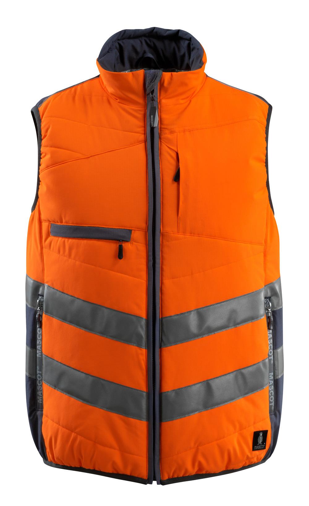 15565-249-14010 Talviliivi - hi-vis oranssi/tumma laivastonsininen