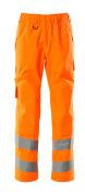 15590-231-14 Päällyshousut polvitaskuilla - hi-vis oranssi