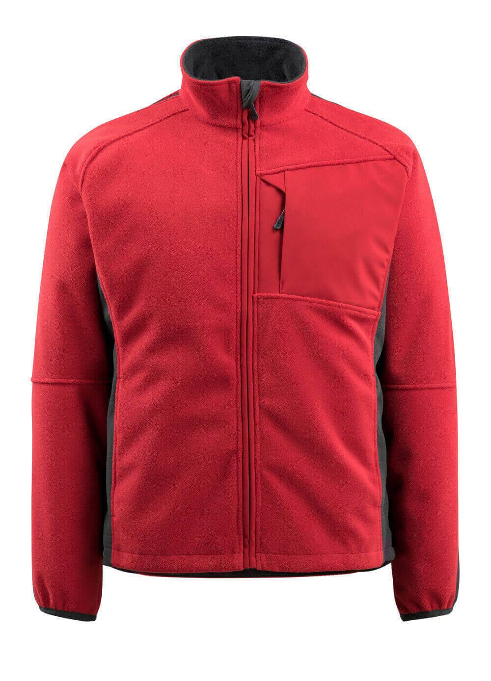 15603-259-0209 Fleece Takki - punainen/musta