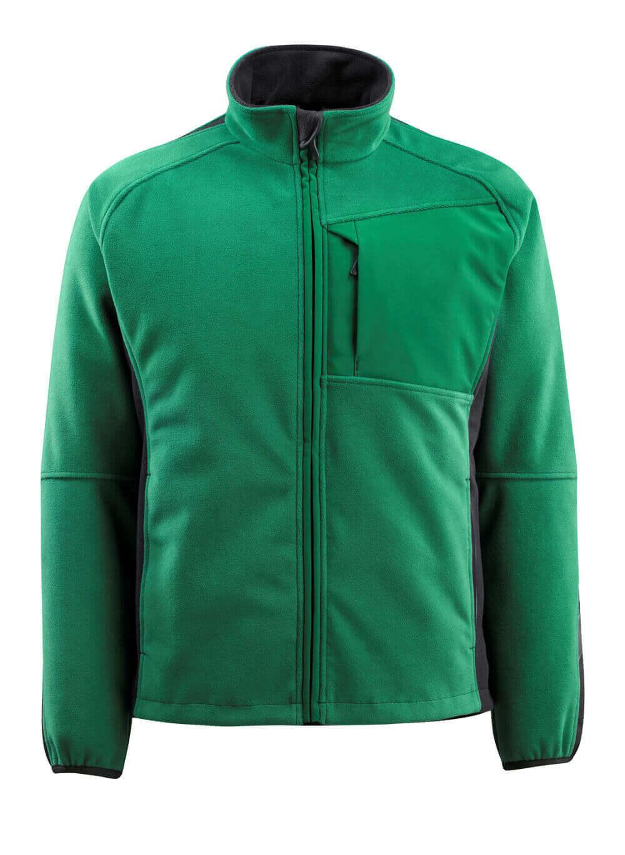 15603-259-0309 Fleece Takki - vihreä/musta