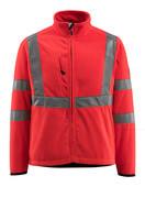 15903-270-222 Fleece Takki - hi-vis punainen