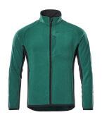 16003-302-0309 Fleece Takki - vihreä/musta