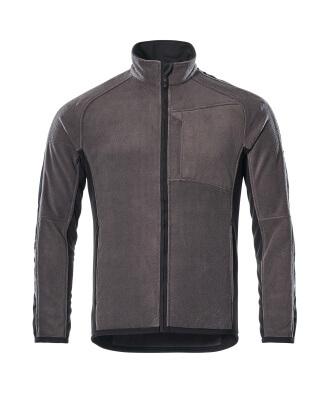 16003-302-1809 Fleece Takki - tumma antrasiitti/musta