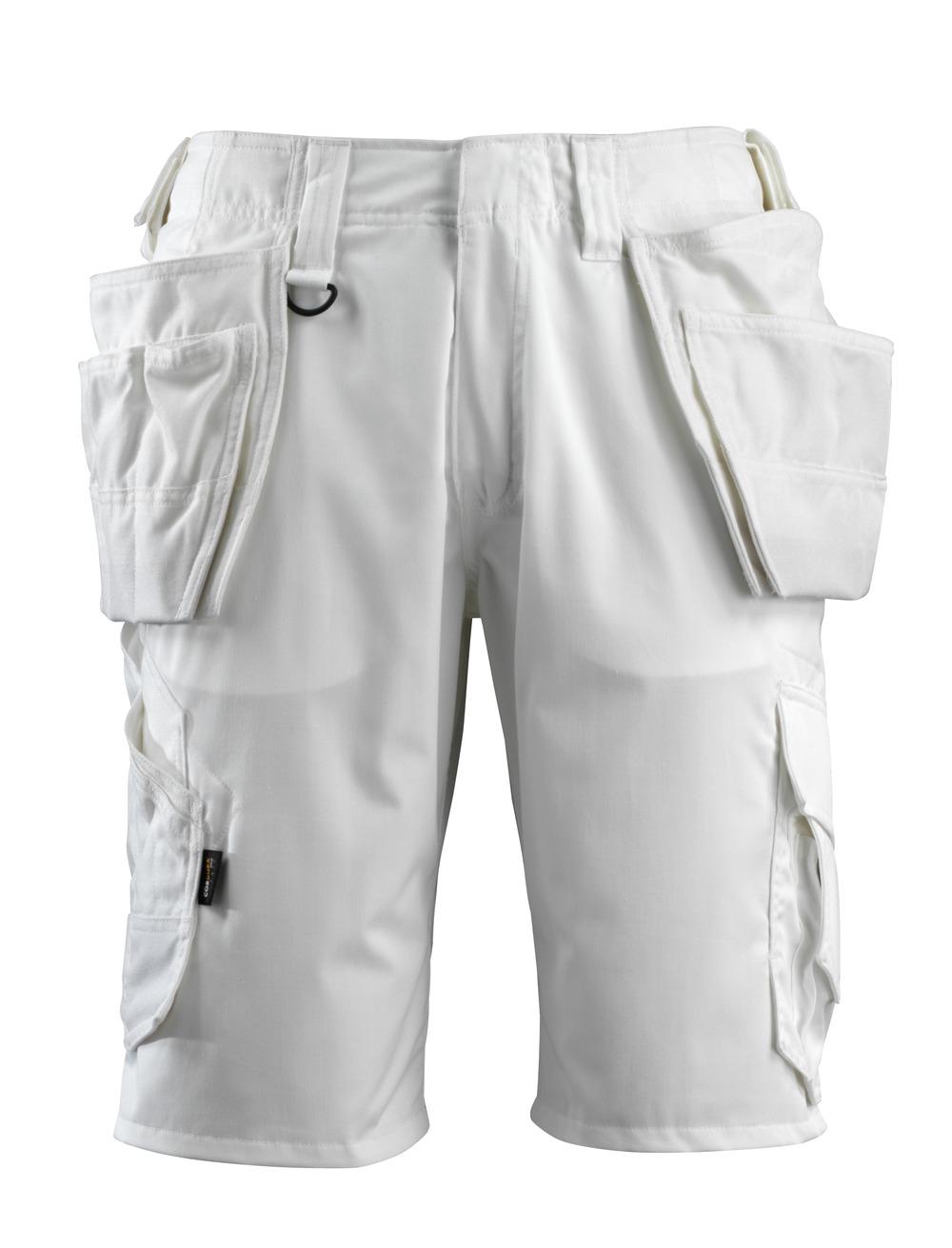 16049-230-06 Shortsit riipputaskuilla - valkoinen