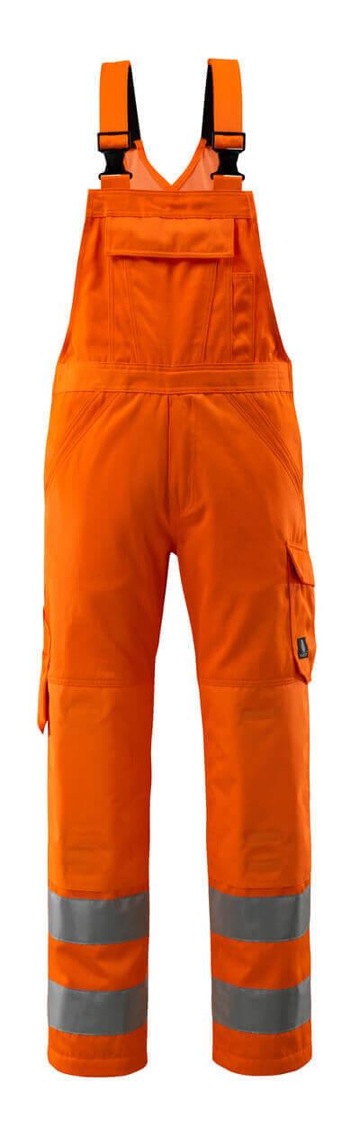 16869-860-14 Avosuoja polvitaskuilla - hi-vis oranssi