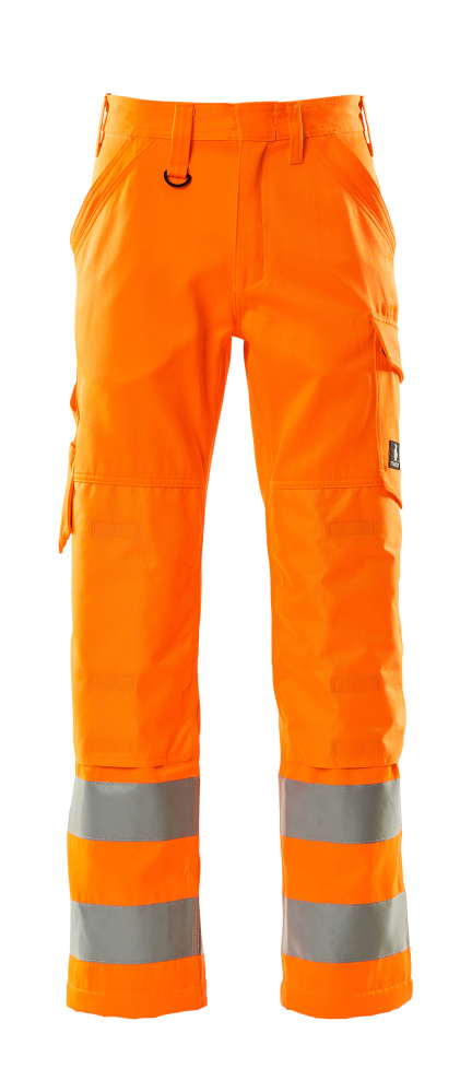 16879-860-14 Housut polvitaskuilla - hi-vis oranssi