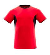 18082-250-20209 T-Paita - punainen/musta
