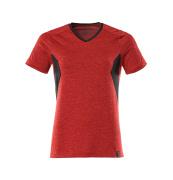 18092-801-20209 T-Paita - meleerattu punainen/musta