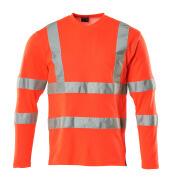 18281-995-14 T-Paita, pitkähihainen - hi-vis oranssi