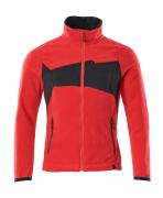 18303-137-20209 Fleece Takki - punainen/musta