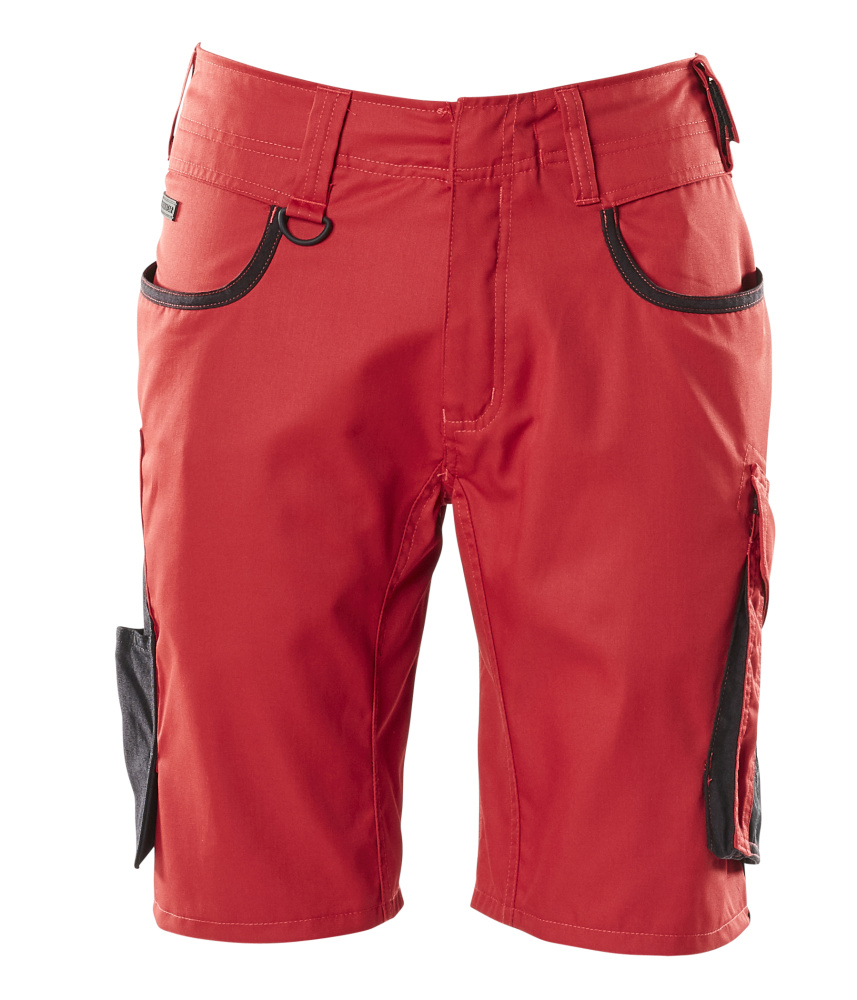 18349-230-0209 Shortsit - punainen/musta