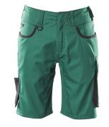 18349-230-0309 Shortsit - vihreä/musta