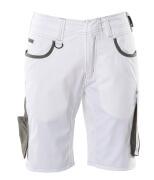 18349-230-0618 Shortsit - valkoinen/tumma antrasiitti