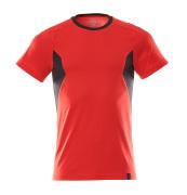 18382-959-20209 T-Paita - punainen/musta
