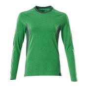 18391-959-33303 T-Paita, pitkähihainen - ruohonvihreä/vihreä