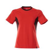 18392-959-20209 T-Paita - punainen/musta